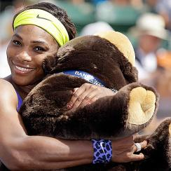 Serena Williams was eager to put her bizarre exit at Wimbledon behind her, and she did just that by emerging victorious at the Bank of the West Classic.