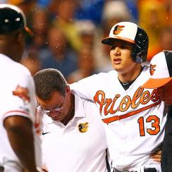 After injuring his right knee while swinging on August 11, Orioles slugger Manny Machado will undergo surgery and likely miss the rest of 2014.