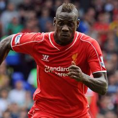 Mario Balotelli made his Liverpool debut against Tottenham after sealing his move from AC Milan.