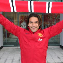 Radamel Falcao will play for Manchester United this season on loan from Monaco after a last-minute move on transfer deadline day.