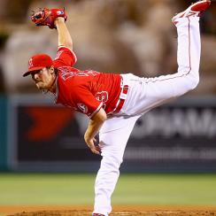 CJ Wilson pitched the Angels to the AL West title on Wednesday by shutting down the Mariners.