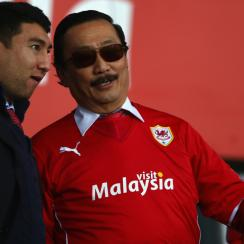 Cardiff City owner Vincent Tan, right, is part of the group that is slated to purchase Chivas USA from MLS and rebrand it as the league's second Los Angeles franchise.