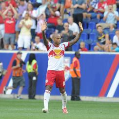 Thierry Henry's time with the New York Red Bulls is nearing an end.