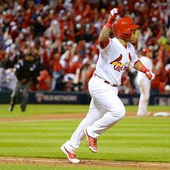 The Cardinals' Kolten Wong belted a game-deciding two-run homer in the seventh inning to give St. Louis a 3-1 win over the Dodgers in Game 3 of the NLDS.