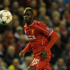 Mario Balotelli's woes continued against Real Madrid Wednesday, and he was yanked at halftime by manager Liverpool Brendan Rodgers.