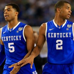 Aaron (No. 2) and Andrew (No. 5) Harrison return to lead a loaded Kentucky team into the national title race.