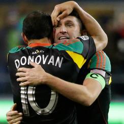 Landon Donovan and Robbie Keane headline MLS' 2014 Best XI.