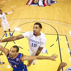 Willie Cauley-Stein helped the top-ranked Wildcats soar over Perry Ellis and Kansas in the Champions Classic, but both figure to contend in March.
