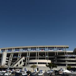Qualcomm Stadium, home of the San Diego Chargers since 1967.