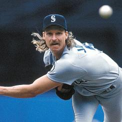 Randy Johnson's career didn't take off until a couple years after he was traded to the Mariners in 1989.