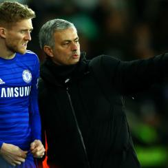 Jose Mourinho has shown Andre Schurrle the door at Chelsea, with the German forward signing with Wolfsburg ahead of the transfer deadline.