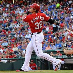 Josh Hamilton's five-tool skills have always inspired awe, but his performances in 2012 had some fellow players wondering if he was divine.