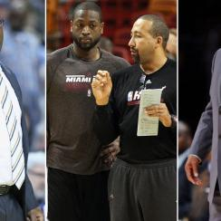 The University of San Diego has produced several NBA coaches, including (from left) Mike Brown, David Fizdale and Bernie Bickerstaff