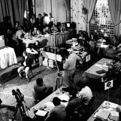 The 1979 NFL draft, held at the Waldorf Astoria in New York, was the fourth draft worked by NFL senior vice president of player personnel and football operations Joel Bussert.