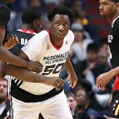 Caleb Swanigan was originally part of Tom Izzo's recruiting class at Michigan State before switching to Purdue.