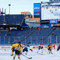 NWHL, CWHL game between Boston Pride and Les Canadiennes de Montreal