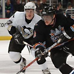 Sidney Crosby and Alex Ovechkin in 2006