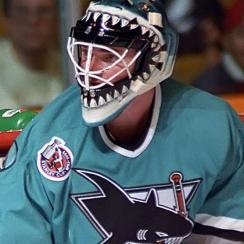 Brian Hayward of the San Jose Sharks