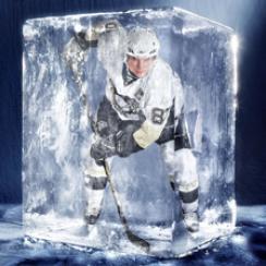 Rare SI photo of Sidney Crosby