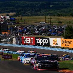 NASCAR racing action at Watkins Glen
