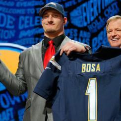 Joey Bosa at the 2016 NFL draft.