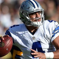 Rookie quarterback Dak Prescott has led the Cowboys to a 5-1 start this season.