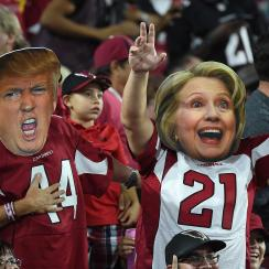 The NFL has had the bad luck of going head-to-head against two of the most highly-watched Presidential debates in history. The league sent out a memo pointing to the hotly contested 2000 election and a similar decrease in ratings. But it's not just that those two primetime games—the election seems to be robbing attention away from everything in American culture. A friend told me the other day that he misses following the Kardashians because he's so preoccupied with the election. The MMQB.com's Andrew Brandt says it's a mistake to reach any conclusions about ratings until after Nov. 8.  But the first game after the vote is a Thursday night Browns-Ravens clash, so the NFL may have to be patient before seeing a ratings bump.