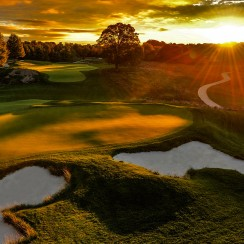 This wooded, stream-slashed D.C.-area venue will host the Quicken Loans National in June. Formerly known as the TPC at Avenel, a ho-hum layout that hosted the Tour from 1987 through 2006, the course was renovated and reopened in 2009. It subsequently hosted the 2010 Constellation Energy Senior Players Championship and the Web.com Tour's 2012 and 2013 Neediest Kids Championships.