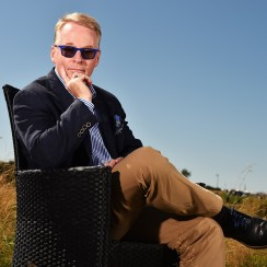 Keith Pelley took over as commissioner and CEO of the European Tour in 2015.