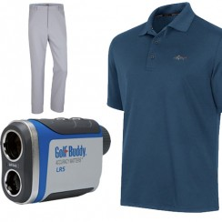 Score deals on golf shoes, polos, button-downs, and tech.