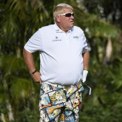 John Daly is famous for doing things his own way.