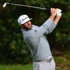Dustin Johnson flirted with the tournament record of 20 under before finishing at 17 under for the event.