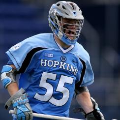 Johns Hopkins' Joel Tinney pulled off another hidden-ball trick to score the game-winning goal against Loyola.