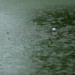 A look at one of the greens at Royal Johannesburg and Kensington Golf Club Saturday during the Joburg Open.