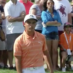 Pros like Rickie Fowler can hit bad putts, too.