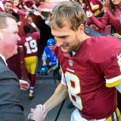 Kirk Cousins' contract situation was one of the circumstances that led to Scot McCloughan losing his job with the Redskins.