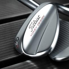 The new Titleist Vokey Wedgeworks High Bounce wedge.