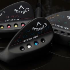 Examples of the options available in the Callaway Customs wedge program.