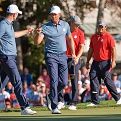 As seen at the Ryder Cup, Rose and Stenson are a dream team.