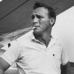 """""""On or off the course, Palmer was magnetic. In cinematic terms, he was Steve McQueen -- cool and Jimmy Stewart -- accessible."""""""