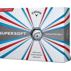 The new Callaway Supersoft golf balls.