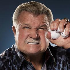 """NFL Hall of Famer Mike DItka, 71, hosts the Mike Ditka Golf Classic (<!--  --><a target=""""_blank"""" class=""""1000"""" href=""""http://www.mikeditkagolfclassic.com/"""">mikeditkagolfclassic.com</a><!-- / -->)."""