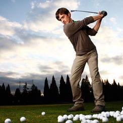 """""""What guy wouldn't want to go out and practice golf for six years?"""""""