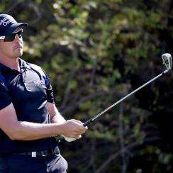 Henrik Stenson got his first win of the season on Sunday in Dubai.