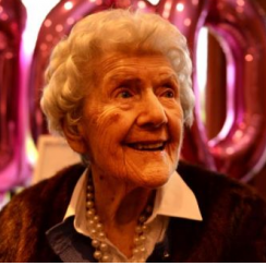 Alice O'Donovan turned 100 years old on Monday, January 5th.