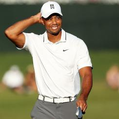 Tiger Woods plays the Players Championship at TPC Sawgrass.