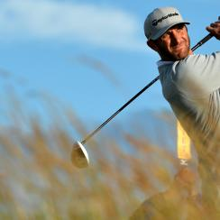Dustin Johnson has the lead in the British Open, but there's still a lot of golf to be played.