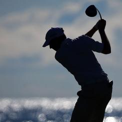 Brian Gaffney tees off at Whistling Straits, site of the 2015 PGA Championship.