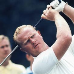 Jack Nicklaus at the Thunderbird Classic in June of 1961 in Clifton, New Jersey.