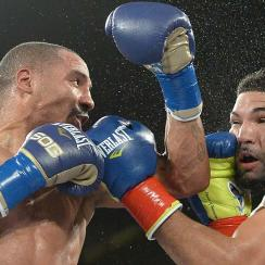 Andre Ward, left, hasn't fought since defeating Edwin Rodriguez in November 2013.